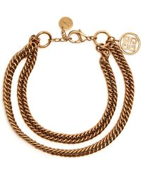 Givenchy - Double-chain Choker - Lyst