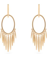 Ileana Makri - Grass Sunset 18kt Gold Earrings - Lyst