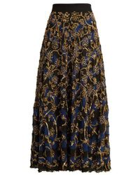 Altuzarra - Vollotta Sequin-embellished Silk Skirt - Lyst