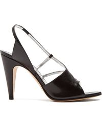 Givenchy - Show Line Leather High Heel Sandals - Lyst