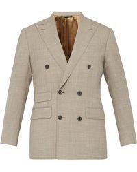 Thom Sweeney - Double Breasted Merino Wool Jacket - Lyst