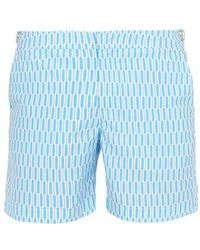 Orlebar Brown - Bulldog Hermosa Mid-length Swim Shorts - Lyst