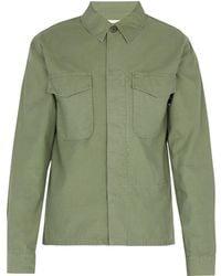Officine Generale - Marine Military Shirt - Lyst