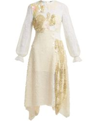 Preen By Thornton Bregazzi - Cara Sequin Embellished Lace Dress - Lyst