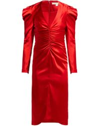 Jonathan Simkhai Satin Midi Dress
