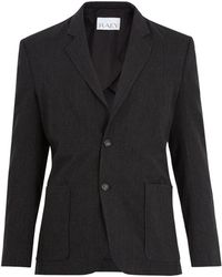 Raey - Wool-blend Suit Jacket - Lyst