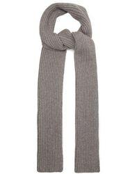 Gabriela Hearst - Ribbed Knit Cashmere Scarf - Lyst