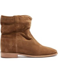 Isabel Marant | Crisi Suede Ankle Boots | Lyst