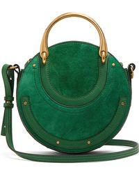 Chloé - Mini Pixie Suede Leather Shoulder Bag - Lyst