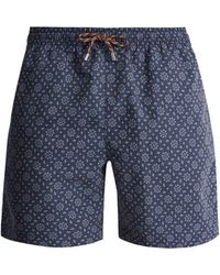 Stella McCartney - Tile-print Swim Shorts - Lyst