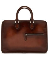 Berluti | Venezia Zip-around Leather Briefcase | Lyst