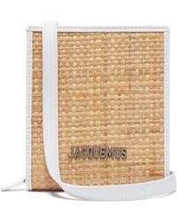 Jacquemus - Le Gadjo Xs Straw Necklace Bag - Lyst