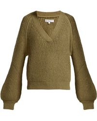 Apiece Apart - Astro Wool-blend V-neck Jumper - Lyst