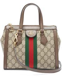 77563e05b7d Gucci - Ophidia Gg Supreme Canvas Cross Body Bag - Lyst