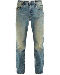 Helmut Lang - 97 Straight-leg Jeans - Lyst