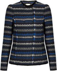 Rebecca Taylor - Variegated Tweed Jacket - Lyst