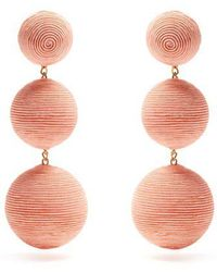 Rebecca de Ravenel - Laeticia Drop Earrings - Lyst