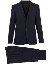 Givenchy - Single-breasted Striped Wool Suit - Lyst