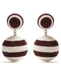 Rebecca de Ravenel | Pepper Drop Earrings | Lyst