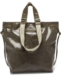Isabel Marant - Doogan Patent Leather Tote - Lyst