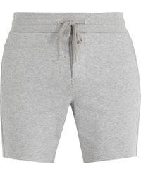 Frescobol Carioca - Drawstring-waist Cotton-blend Shorts - Lyst