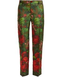 F.R.S For Restless Sleepers Tartaro Printed Silk Pyjama Pants