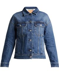 Acne Studios - Lamp Denim Jacket - Lyst