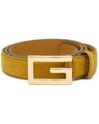 49f7c118cee Lyst - Gucci Gg-buckle Web-canvas Belt in Blue for Men