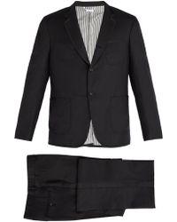 Thom Browne - Contrast Trim Wool Tuxedo - Lyst