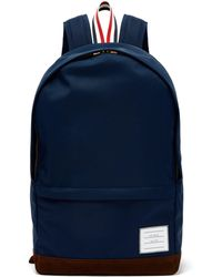 Thom Browne - Logo-patch Nylon Backpack - Lyst