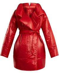 Norma Kamali - Sleeping Bag Knee-length Coat - Lyst