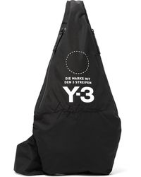 Y-3 - Yohji Signature Nylon Cross Body Bag - Lyst