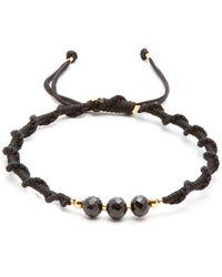 Black Dakini - Bead Embellished Cord Bracelet - Lyst