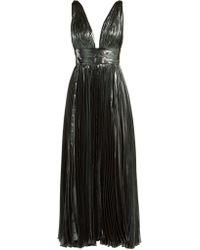 Maria Lucia Hohan - Sada Pleated Silk Blend Gown - Lyst
