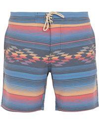 Faherty Brand | Geometric Striped-print Shorts | Lyst