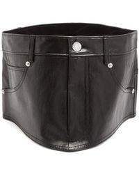 Helmut Lang - Stretch-leather Waist Belt - Lyst