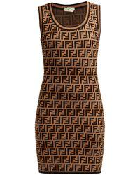 bc8a32d14466 Lyst - Women s Fendi Dresses