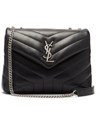Saint Laurent - Loulou Quilted Leather Shoulder Bag - Lyst
