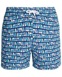 Frescobol Carioca - Sports Bossa-print Swim Shorts - Lyst