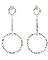Isabel Marant - Supraluminique Drop Hoop Earrings - Lyst