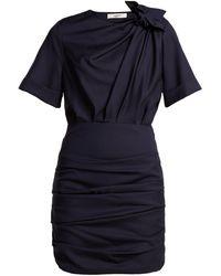 Étoile Isabel Marant - Oria Gathered Cotton Mini Dress - Lyst