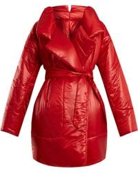 Norma Kamali - Sleeping Bag Knee-length Coat - Lyst