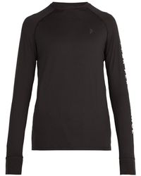 Peak Performance - Print Sleeved Stretch Jersey Top - Lyst