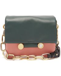 Marni - Cady Tri-colour Leather Shoulder Bag - Lyst