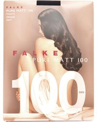 Falke - Pure Matte 100 Denier Tights - Lyst