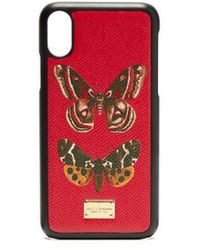 Dolce & Gabbana - Butterfly-print Iphone® Case - Lyst