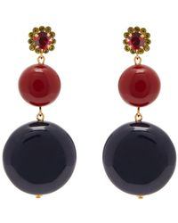 Marni - Circle Hoop Earrings - Lyst