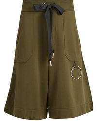 Marques'Almeida - Drawstring-waist Cotton-blend Shorts - Lyst