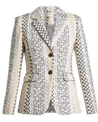 Altuzarra - Fenice Embroidered Single-breasted Blazer - Lyst