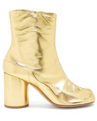 Maison Margiela - Tabi Split-toe Leather Ankle Boots - Lyst